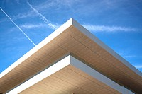 Detail of the Veles e Vents building, Marina Real Juan Carlos I, Valencia, Spain. Made by David Chipperfield and b720 Arquitectos.