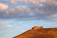 Castillo de Santa Barbara, Teguise, Lanzarote island, Canary archipelago, Spain, Europe.