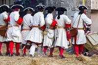 Succession War September 4, 2010 in Brihuega, Spain.