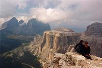 Italy. Trentino-Alto Adige. Italian Tyrol. Dolomites.