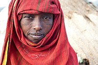 Woman belonging to the Afar tribe ( Afar state, Ethiopia).