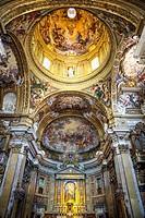 Italy. Rome. Chiesa del Gesu in Rome.