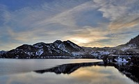 Porma is the third largest reservoir in the province of Leon, after Riano, in the Esla, and Bárcena in the Sil. Built by engineer and writer Juan Bene...