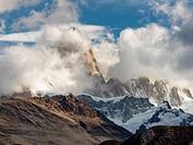 Patagonia Argentina Mt Fitz Roy.