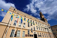 The Town Hall in Opole, Poland