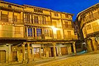 Main Square, Traditional Architecture, Medieval Town, Historic Artistic Grouping, Spanish Property of Cultural Interest, La Alberca, Salamanca, Castil...