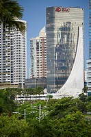 Modern Architecture, Panama City, Panama, Republic of Panama, Central America.