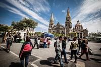 Guadalajara, Mexico. Main Cathedral.