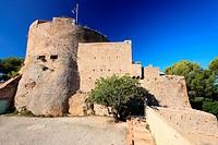 Fort Sainte Agathe, Porquerolles, Ile de Porquerolles, Var, Provence-Alpes-Côte d´Azur, France