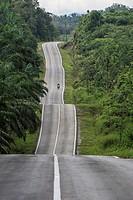 Bau-Gumkbang road, Sarawak, Malaysia.