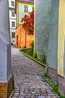 Passau alley, Germany.