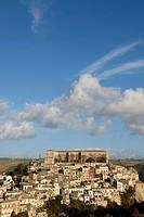 Cityscape of Ragusa Ibla, Sicily, Italy.