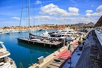 PORT ADRIANO, MALLORCA, SPAIN: The Port Adriano at Et Toro on Mallorca Island, Spain.