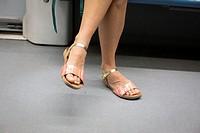 Legs, Metro Madrid, Spain.