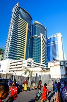 PSPF Towers and Kakakuona Tower, Dar-es-Salaam, Tanzania