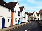 Houses in The Dutch Quarter - Colchester, Essex, England