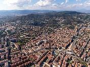 Les Corts - Sarrià area. Barcelona.