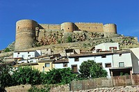 The Castle of Luna, XIVth century. Mesones de Isuela, Saragossa province, Spain
