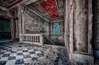 Novi Ligure, Piemonte, Italy, Abandoned house 1800.