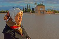 Bassin La Menara, Marakesh, Morocco.