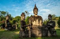 Xieng Kuane Buddha Park, Laos.