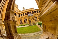 Cloister of the Kings, Covento de San Esteban, Plateresque Style,16th-17th century, Spanish Property of Cultural Interest, Historic Artistic Grouping,...