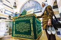 Mausoleum of Saladin, Damascus, Syria.