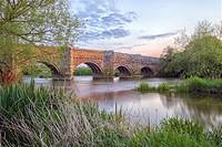 White Mill Bridge, Sturminster Marshall, Dorset, England, UK.