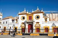 Plaza de Toros de La Maestranza, Sevilla, Andalusia, Spain, Europe.