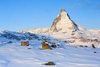 Matterhorn - 4478 m, Zermatt, Wallis, Switzerland.