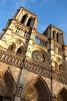 Notre Dame Cathedral. Paris. France. Europe.