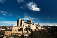 Alcázar de Segovia - Castilla-León - España - Europa.