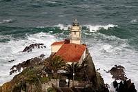 Lighthouse Cudillero, Asturias Spain