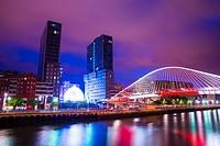 Torres Isozaki en Bilbao. Vizcaya. Pais Vasco. España. Europa.