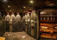Shower and Sauna, Beana Laponia Hotel, Lapland, Finland.