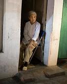 Old woman in Hanoi. Vietnam.