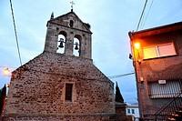Church of San Benito Abad, Gargantilla del Lozoya, Madrid, Spain.