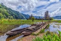 Pegubugan, Gubug Temple, Lake Tamblingan, Munduk village, Bali, Indonesia.