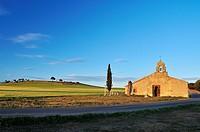 San Miguel de Párreces chapel in Villoslada, Segovia.