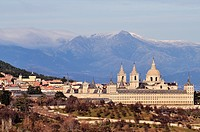 Monastery of San Lorenzo de El Escorial. Madrid, Spain.