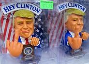 Trump satirical figures