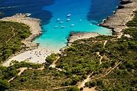 Cala Es Talaier Beach. Minorca. Balearic Island. Spain.