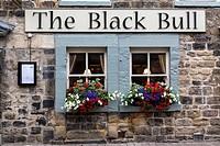 Corbridge, England, UK. The Black Bull Pub and Restaurant.