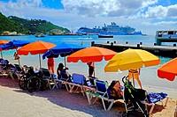 St Maarten Caribbean Cruise Celebrity line Island Vista Southern Caribbean Island Cruise from Miami Florida.