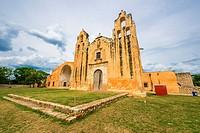 Route of the convents: Mani, Yucatan (Mexico).
