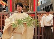 Japan, Kyoto, Gion Matsuri, festival, ceremony, people,.