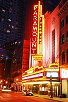 Paramount Theater, Boston.