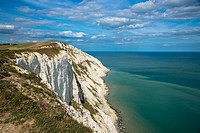 coastline at Beachy Head, Sussex, England