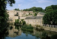 Bradford Upon Avon in Wiltshire in England in Great Britain in the United Kingdom.