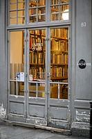 Livres d'Art - Bookstore in Les Marais district of Paris France.